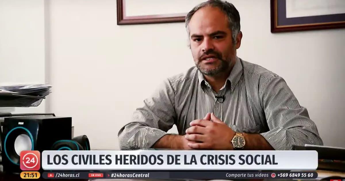 Heridas oculares en la crisis social